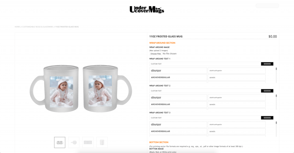 Under Cover Mugs
